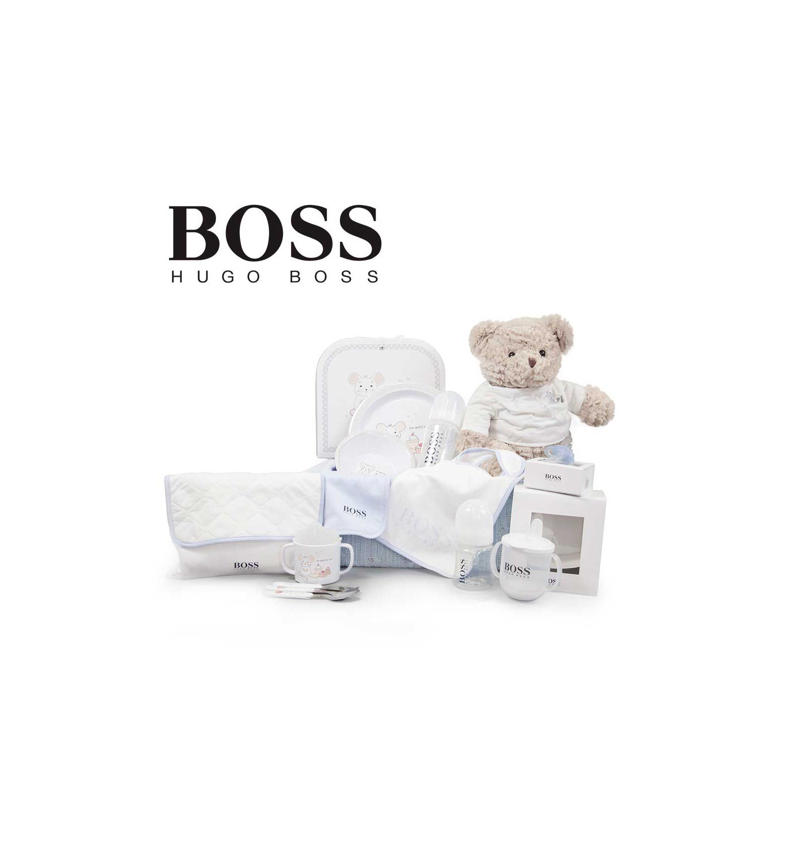 canastilla hugo boss baby gourmet boy beb de par s. Black Bedroom Furniture Sets. Home Design Ideas