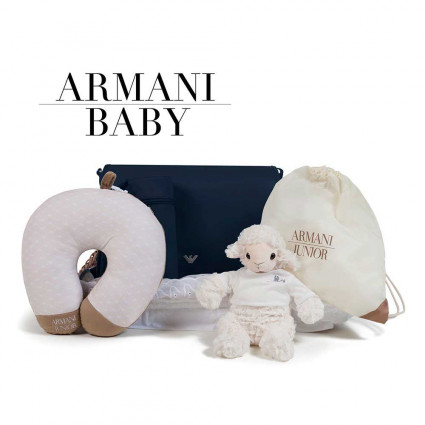 Canastilla Armani Baby Weekend navy