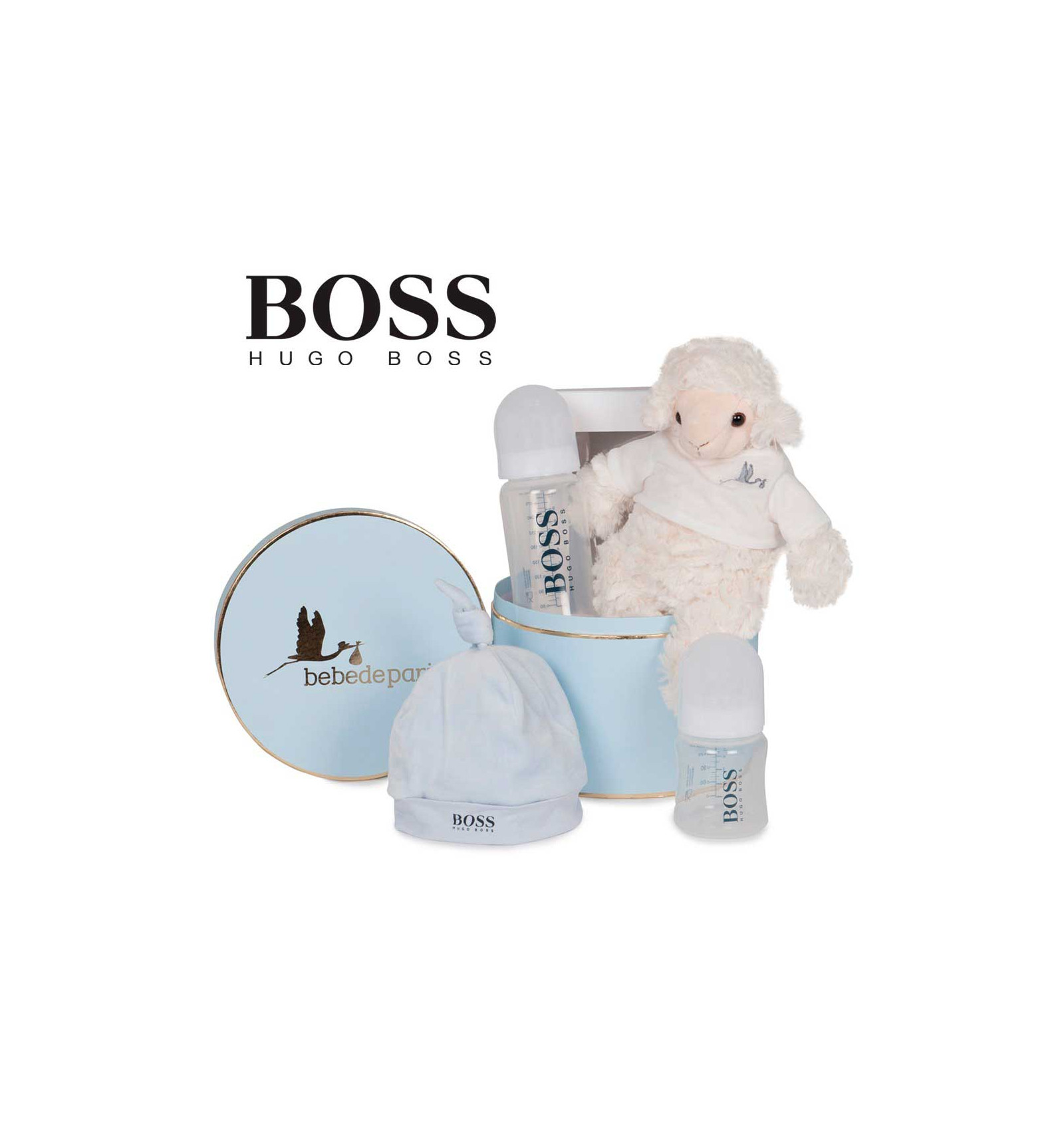 canastilla beb hugo boss gorrito beb de par s. Black Bedroom Furniture Sets. Home Design Ideas