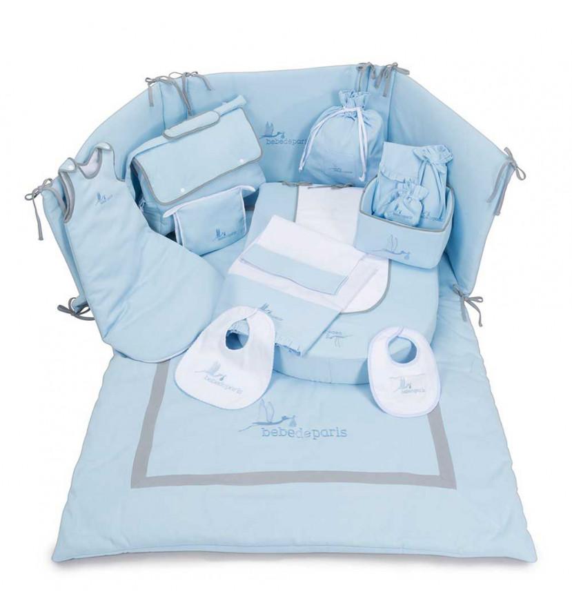 Conjunto Dulces Sueños Bebé Azul