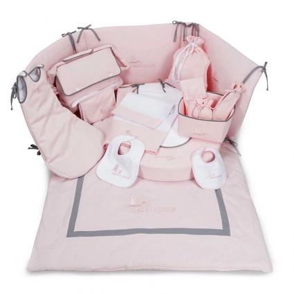 Conjunto Dulces Sueños Bebé Rosa
