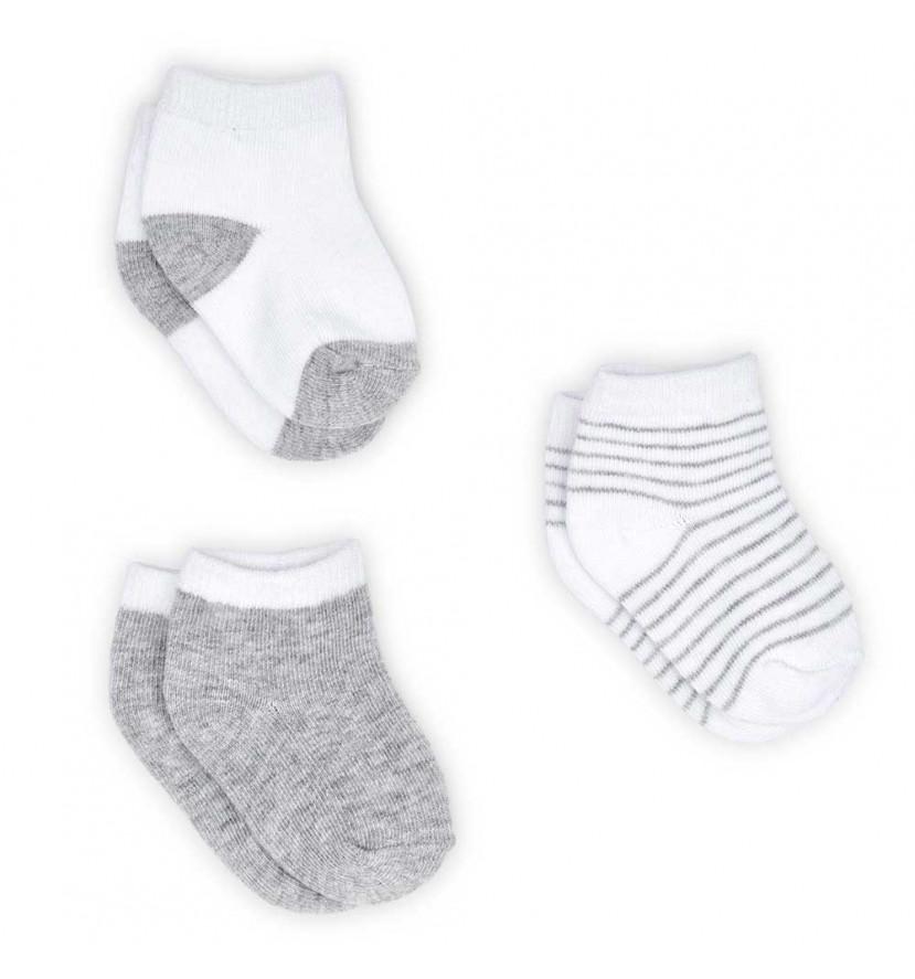 Set Calcetines Bebé Gris