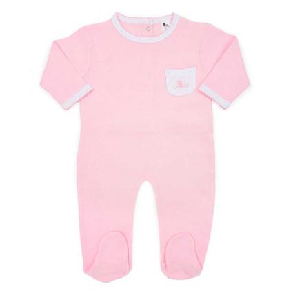 Pijama Bebé Estrellitas Rosa
