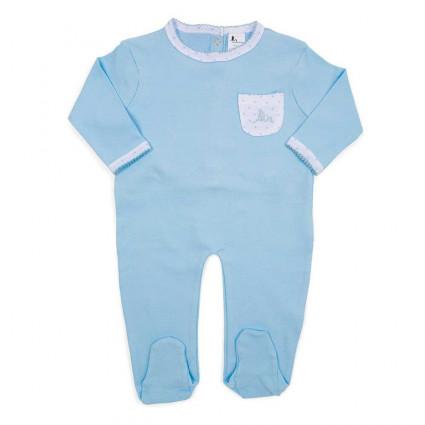 Pijama Bebé Estrellitas Azul