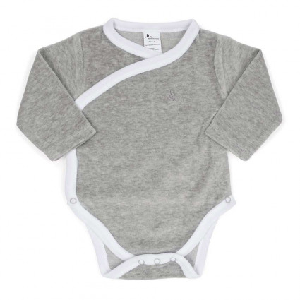 Body Bebé Soft Gris