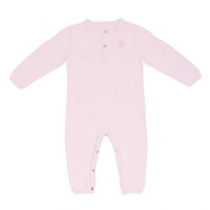 Mono Bebé Punto Clásico Rosa