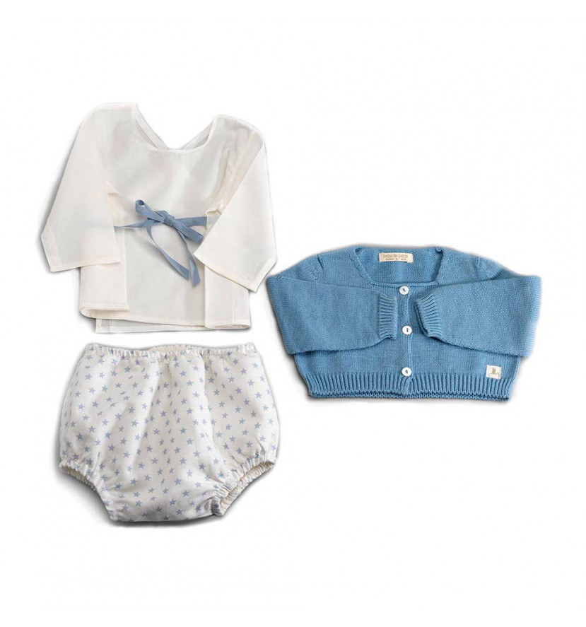 Conjunto Bebé New York Azul