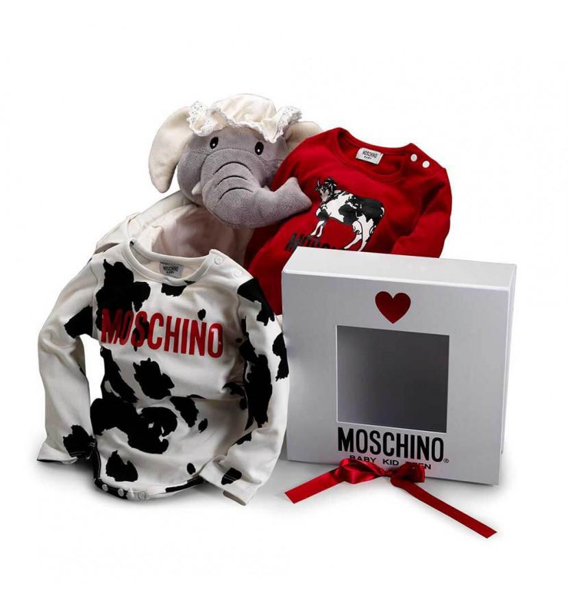 canastilla moschino baby milk