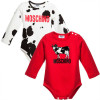 bodies moschino milk blanco y rojo