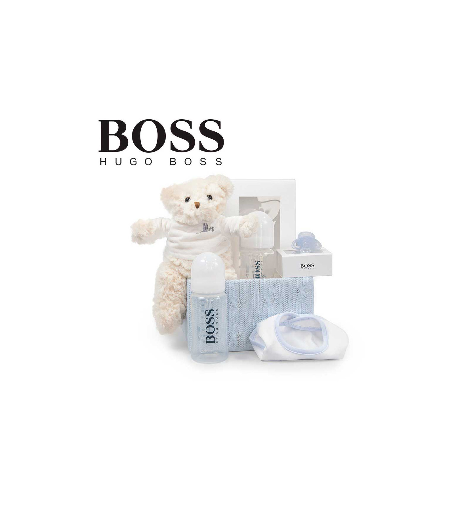 3077c6f8c6b Canastilla Bebé Hugo Boss Essentials