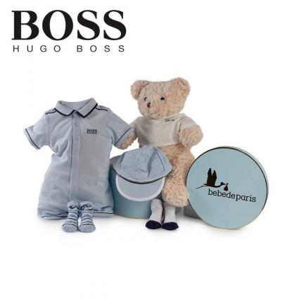 Canastilla Hugo Boss Marine Azul