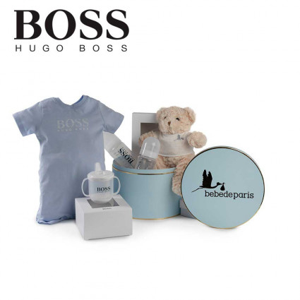 Canastilla Hugo Boss Essentials Azul