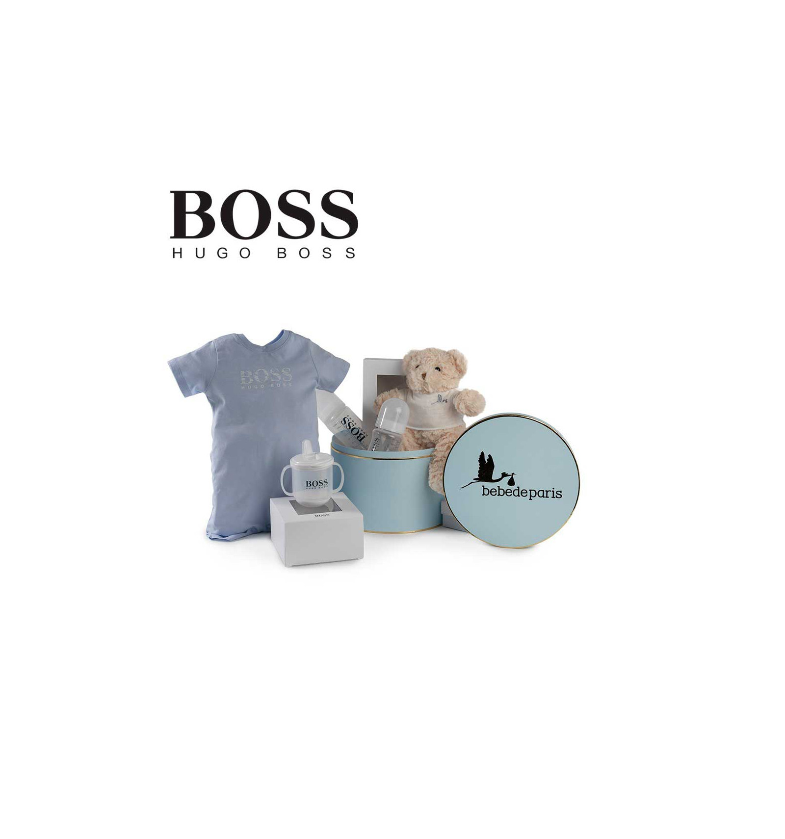 canastilla beb hugo boss baby essentials beb de par s. Black Bedroom Furniture Sets. Home Design Ideas