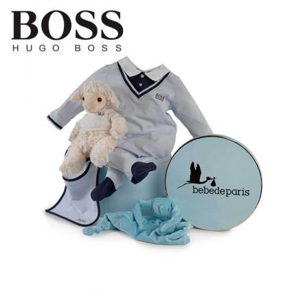 Canastilla Bebé Hugo Boss Serenity Marino