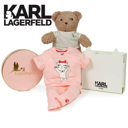 Canastilla bebé Karl Lagerfeld Cat