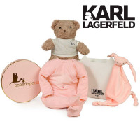 Canastilla bebé Karl Lagerfeld Serenity Rosa