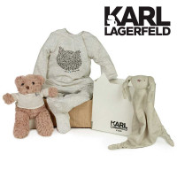 Canastilla Karl Lagerfeld Serenity gris