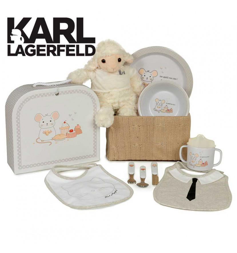 Canastilla Karl Lagerfeld Baby Deli con Logo