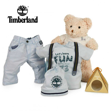 Canastilla Bebé Timberland Fun Esencial