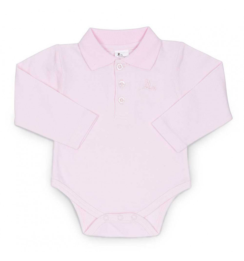Polo Body Bebé Rosa