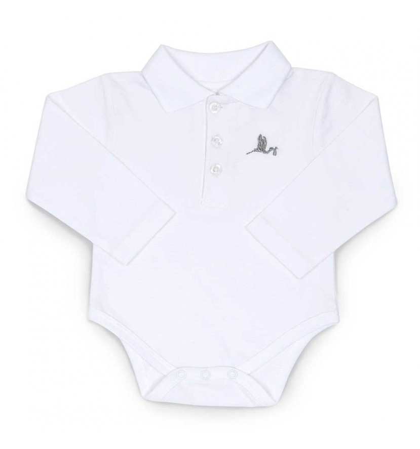 Polo Body Bebé Blanco