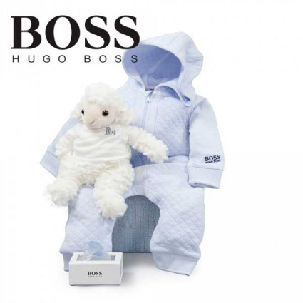 Canastilla Hugo Boss Sport Azul