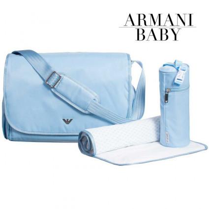 Bolso Bebé Cochecito Armani Azul