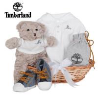 Canastilla Bebé Timberland Botitas