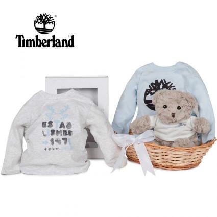 Canastilla Bebé Timberland Camisetas