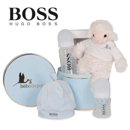 Canastilla Bebé Hugo Boss Gorrito