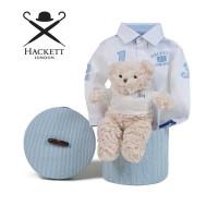 Canastilla Bebé Hackett Camisa Blanca