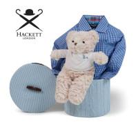 Canastilla Bebé Hackett Camisa Azul