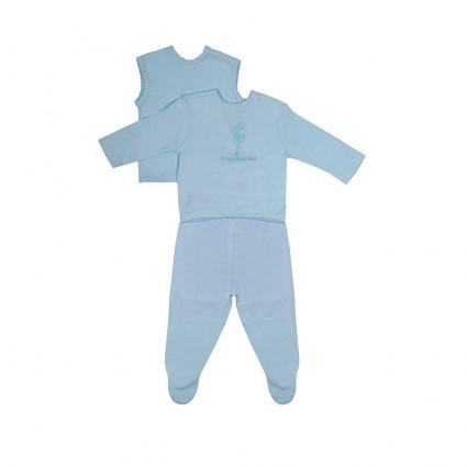 Conjunto Bebé Basic Azul
