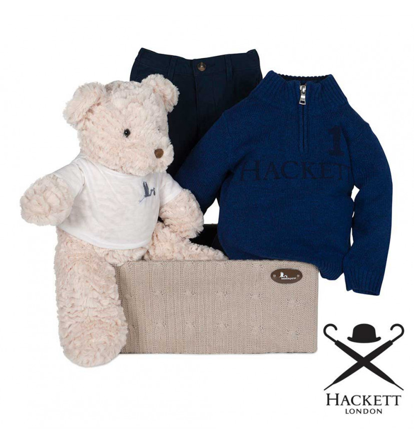 Canastilla Bebé Hackett Conjunto Jersey