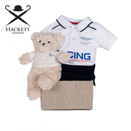 Canastilla Bebé Hackett Polo Racing