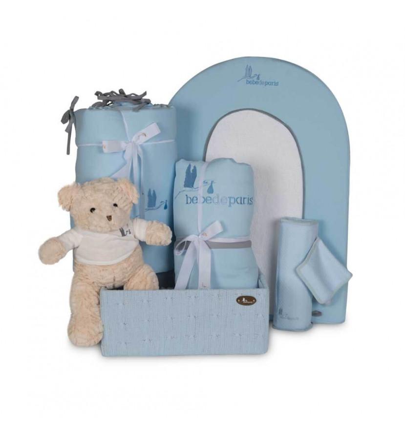 Cesta Bebé Mi Habitación Esencial Azul