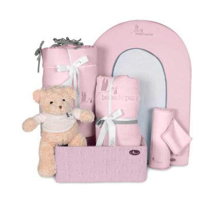 Cesta Bebé Mi Habitación Esencial Rosa