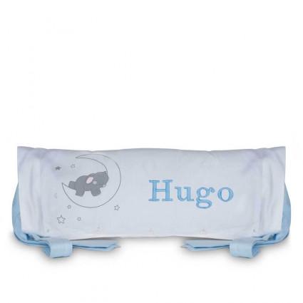 Cojin Personalizado Nombre Bebé Elefante