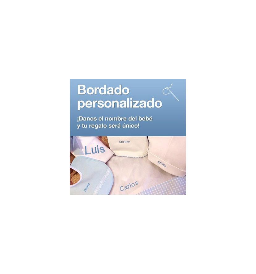 Incluido 1 Bordado personalizado para bebés