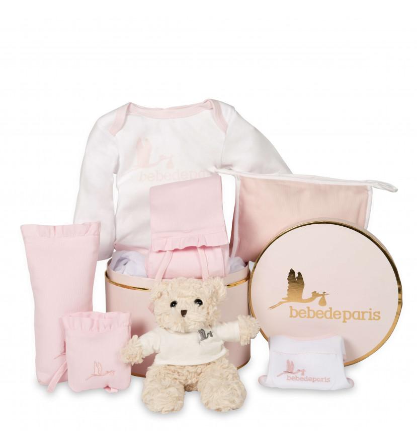 Cesta Bebé Tender rosa