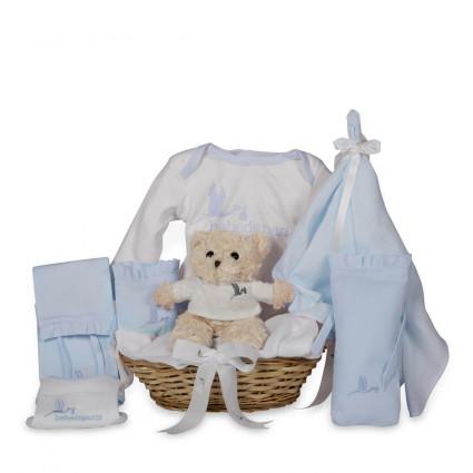 Cesta Bebé Tender azul