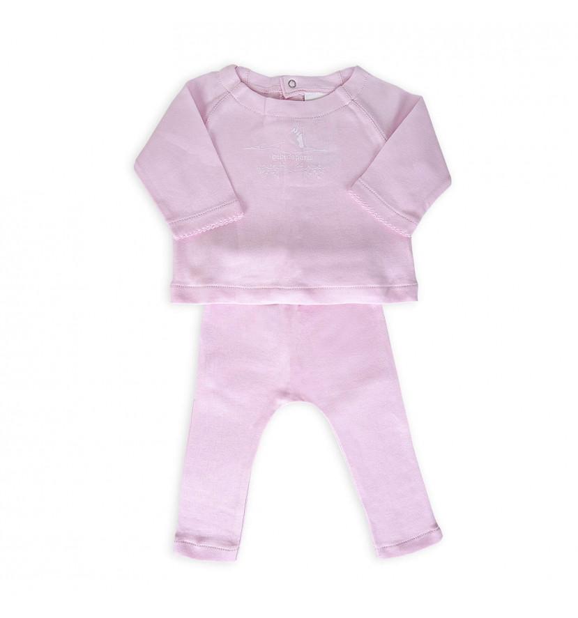 conjunto casual moda rosa