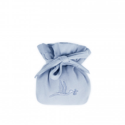 funda chupete azul