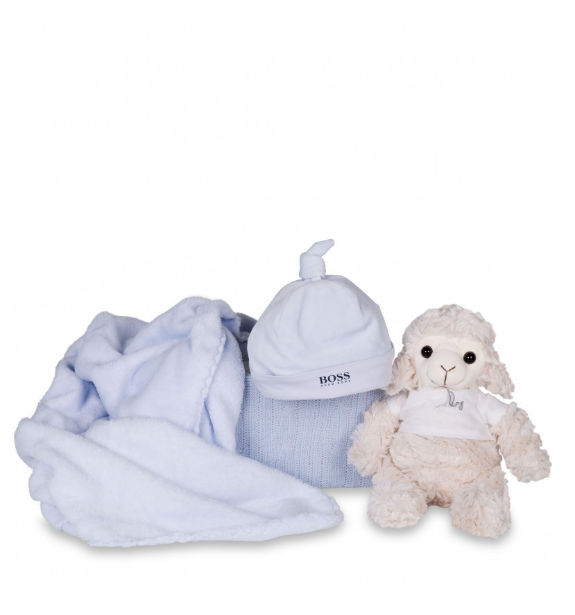 Set bebé regalo Gorrito Hugo Boss