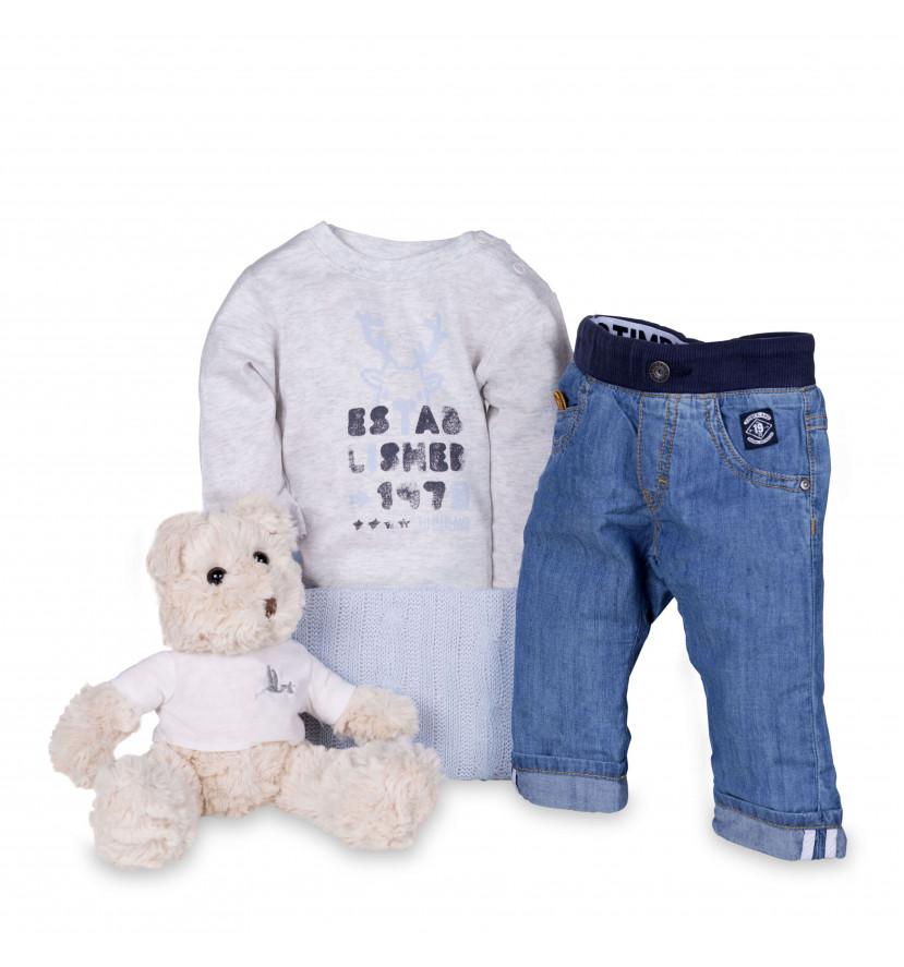 regalo bebé Conjunto Denim Timberland