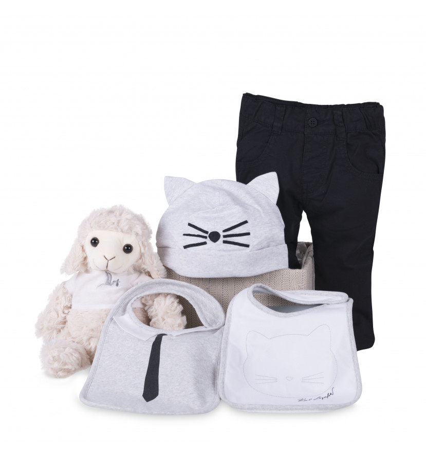 regalo bebé Set bebé cat Karl Lagerfeld