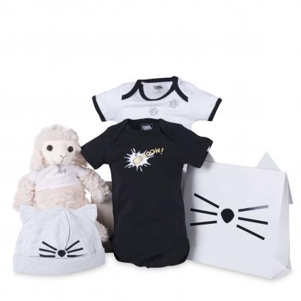 Set regalo bebé bodies cat Karl Lagerfed