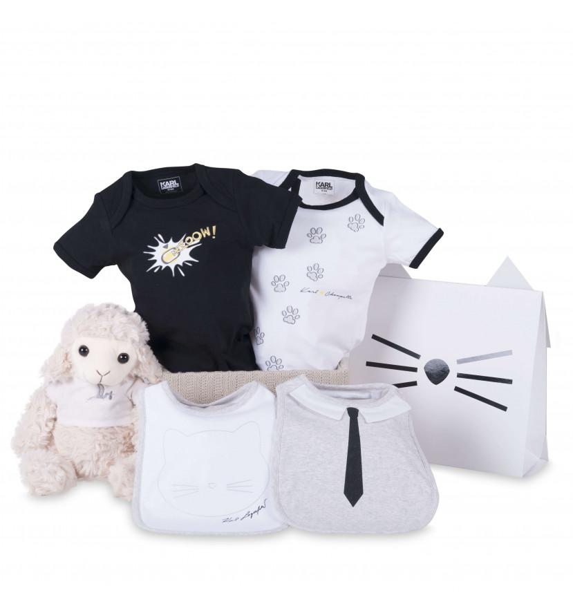 regalo bebé Canastilla bebés bodies cool Karl Lagerfed