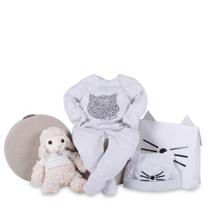 Canastilla bebé pijama karl lagerfeld
