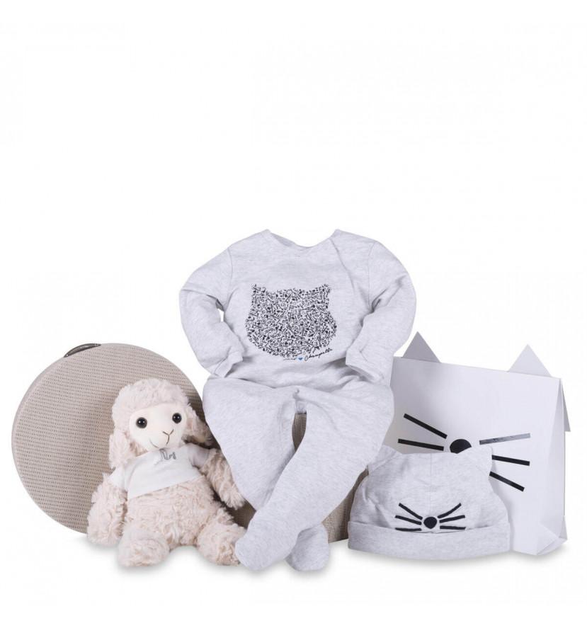 regalo bebé Canastilla bebé pijama karl lagerfeld